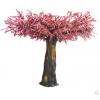 仿真桃花树大型室内装饰樱花树餐厅假树许愿大树假桃树玻璃钢定做