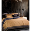 欧式酒店风120S埃及长绒棉四件套简约素色轻奢五星级全棉床上用品