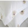 五星级酒店布草床上用品纯棉白床单被套全棉四件套春秋款宾馆民宿
