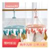 茶花塑料 07011T 方圆晒架14夹吊架挂架晾衣夹塑料衣架衣夹子